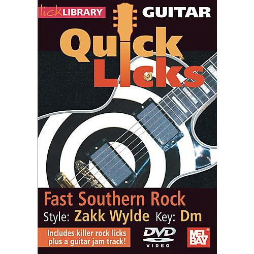 Hal Leonard Guitar Quick Licks - Zakk Wylde Style, Fast Southern Rock