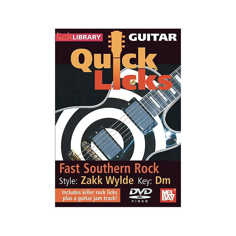 Hal LeonardGuitar Quick Licks - Zakk Wylde Style, Fast Southern Rock