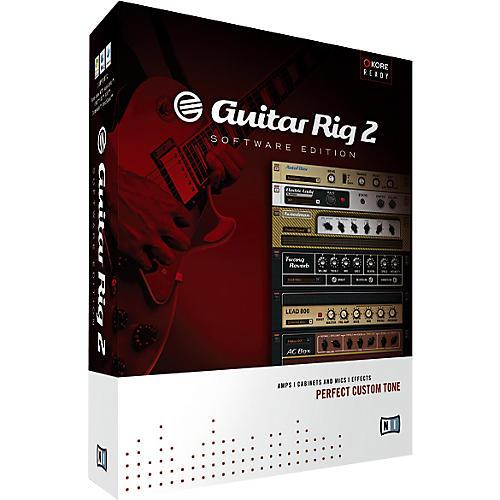 Native Instruments Guitar Rig 2 Software Education Edition