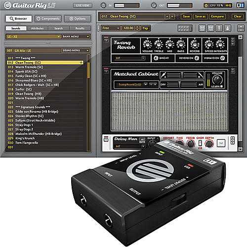 Native Instruments Guitar Rig  MOBILE Audio Interface