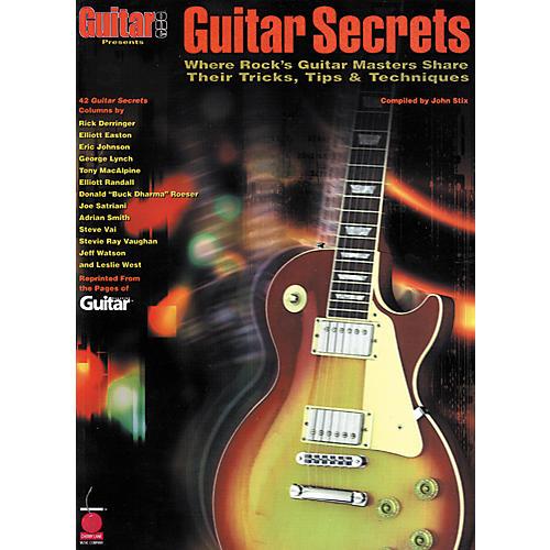 Hal Leonard Guitar Secrets Book