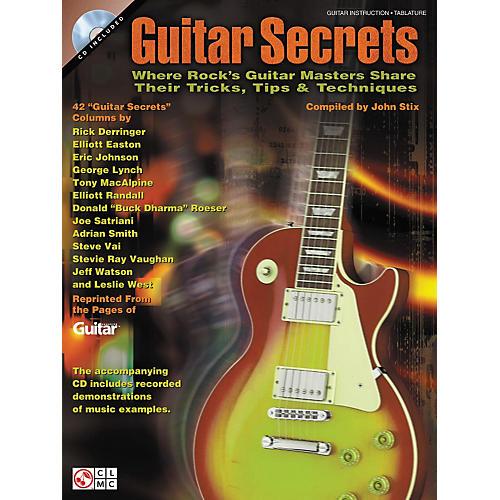 Cherry Lane Guitar Secrets (Softcover Book/CD)-thumbnail