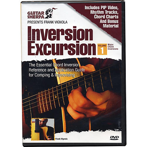 Music Sales Guitar Sherpa Presents Frank Vignola: Inversion Excursion (DVD)