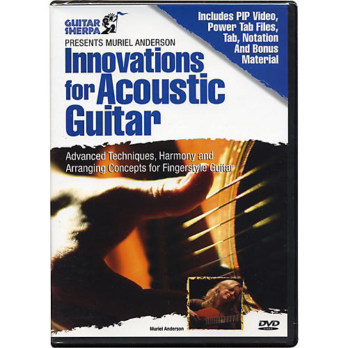 Music Sales Guitar Sherpa Presents Muriel Anderson: Innovations for Acoustic Guitar (DVD)
