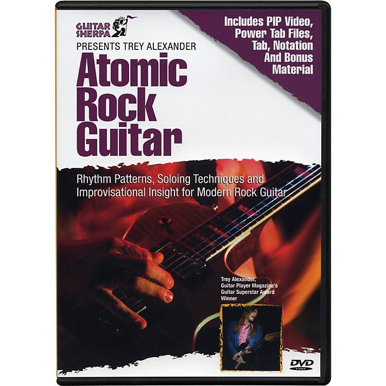 Music SalesGuitar Sherpa Presents Trey Alexander: Atomic Rock Guitar (DVD)