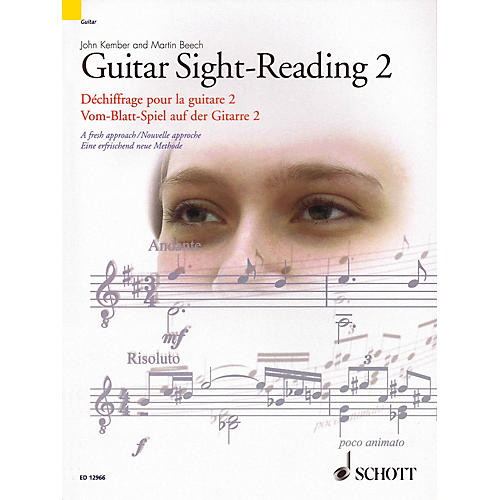 Schott Guitar Sight-Reading 2 (A Fresh Approach) Guitar Series Softcover-thumbnail