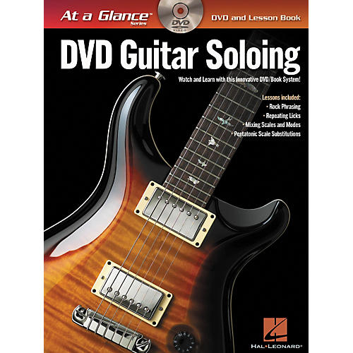 Hal Leonard Guitar Soloing - At A Glance (Book/DVD)