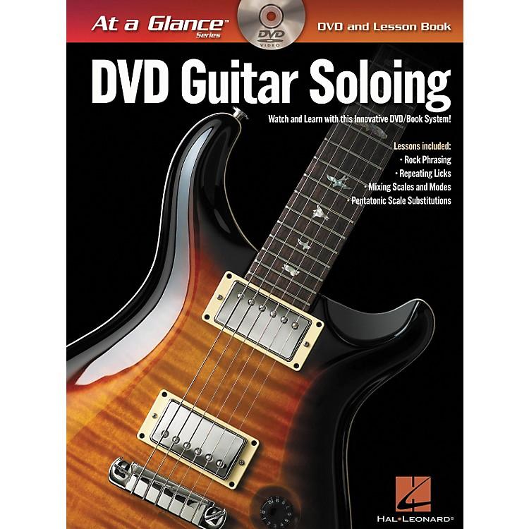Hal LeonardGuitar Soloing - At A Glance (Book/DVD)