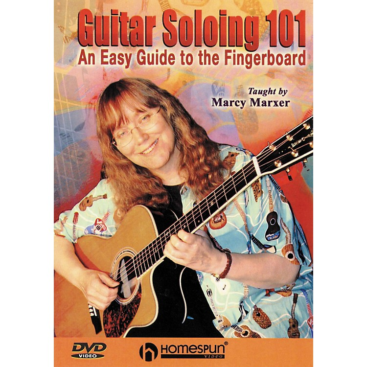 Homespun Guitar Soloing 101 - An Easy Guide to the Fingerboard (DVD)