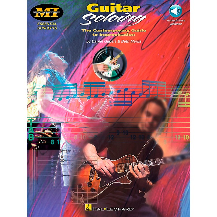 Hal Leonard Guitar Soloing Book/CD