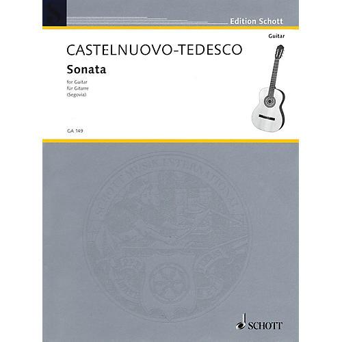 Schott Guitar Sonata (Hommage to Boccherin) Schott Series-thumbnail