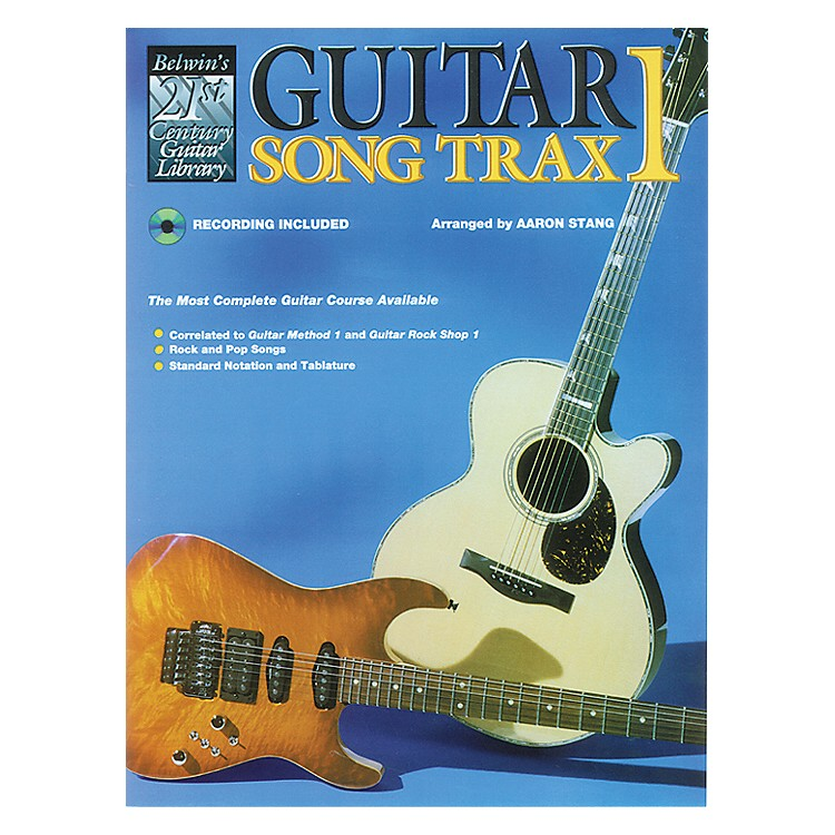 Alfred Guitar Song Trax 1 (Book/CD)