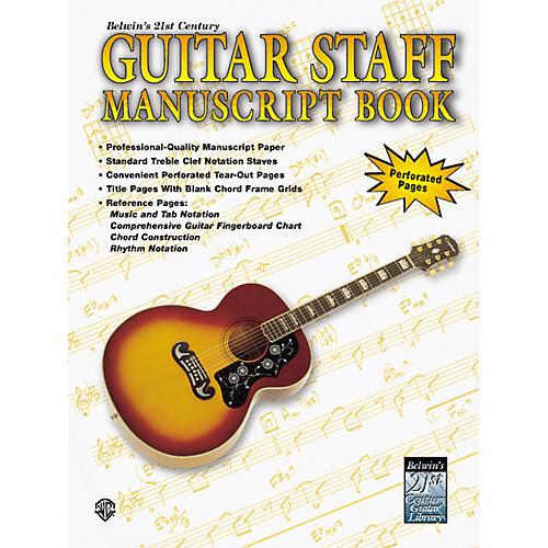 Alfred Guitar Staff Paper Book-thumbnail