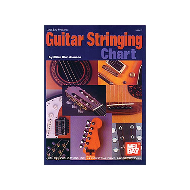 Mel Bay Guitar Stringing Chart