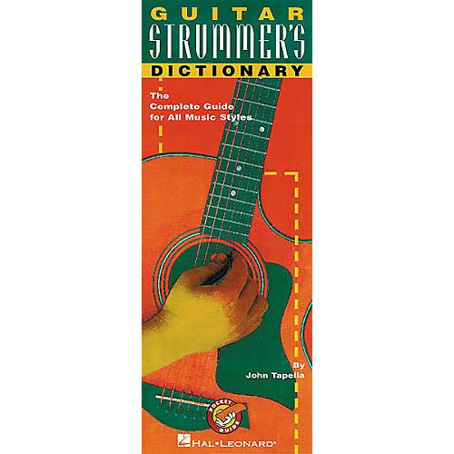 Hal Leonard Guitar Strummer's Dictionary Pocket Guide Book-thumbnail