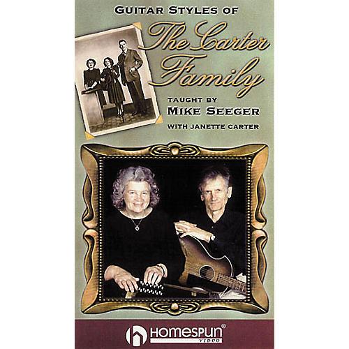 Homespun Guitar Styles of The Carter Family (VHS)