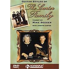 Homespun Guitar Styles of the Carter Family (DVD)