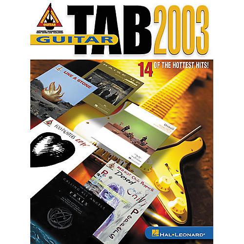 Hal Leonard Guitar Tab 2003 Book-thumbnail