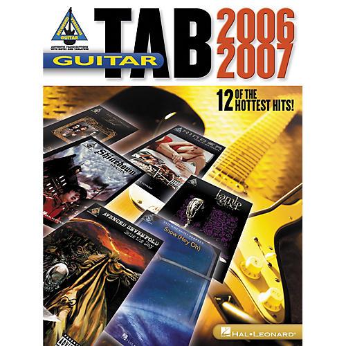 Hal Leonard Guitar Tab 2006-2007 Songbook