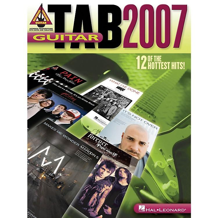 Hal LeonardGuitar Tab 2007 Songbook