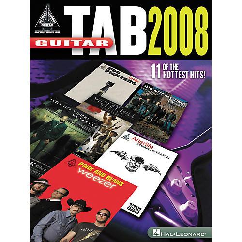 Hal Leonard Guitar Tab 2008 - Guitar Recorded Version Series (Songbook)