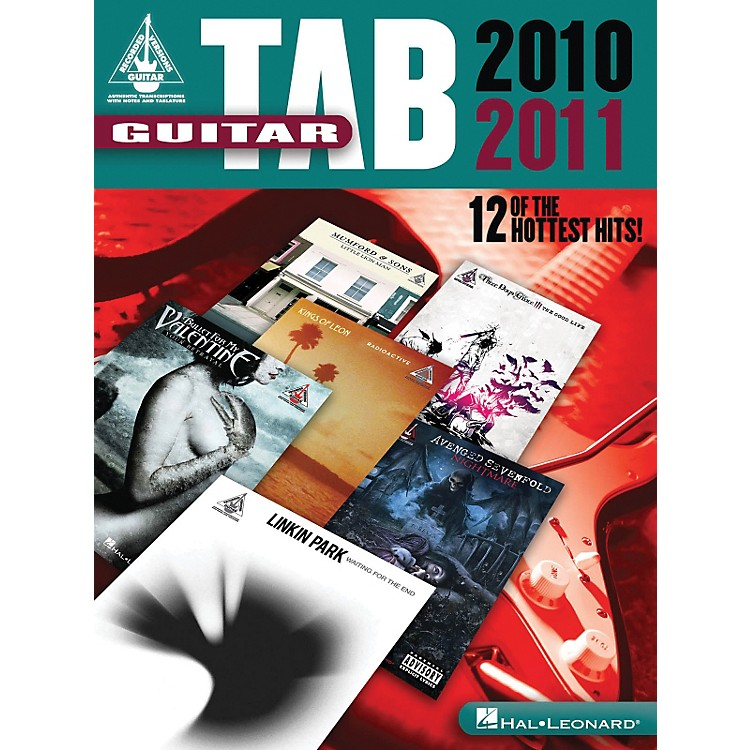 Hal LeonardGuitar Tab 2010-2011