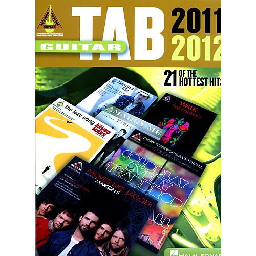 Hal Leonard Guitar Tab 2011-2012 Songbook-thumbnail