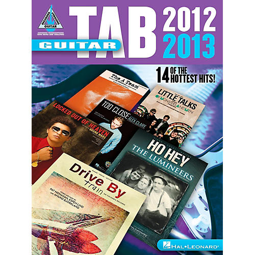 Hal Leonard Guitar Tab 2012-2013