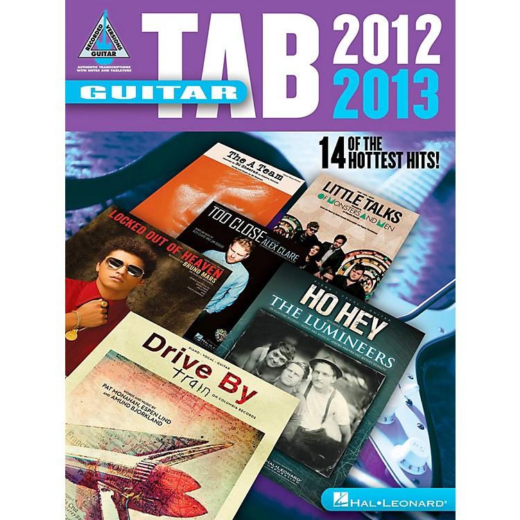Hal LeonardGuitar Tab 2012-2013