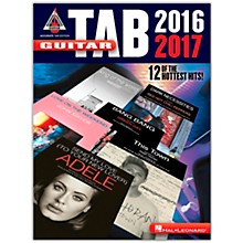 Hal Leonard Guitar Tab 2016-2017 (Accurate Tab Edition) Guitar Recorded Version Series Softcover Performed by Various