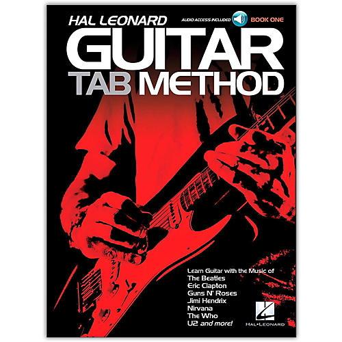 Hal Leonard Guitar Tab Method Book 1 Book/CD