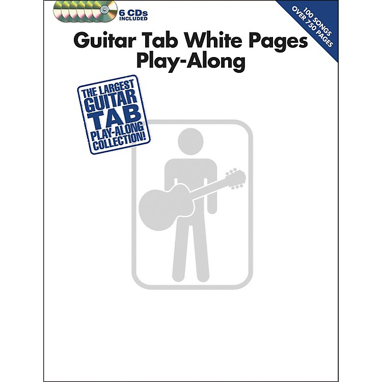 Hal Leonard Guitar Tab White Pages Play-Along (Book/6-CD Pack)