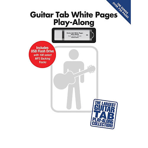 Hal Leonard Guitar Tab White Pages Play-Along Book/USB-thumbnail