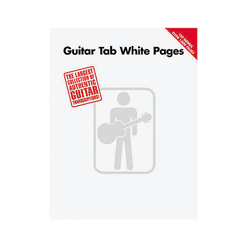 Hal Leonard Guitar Tab White Pages Songbook