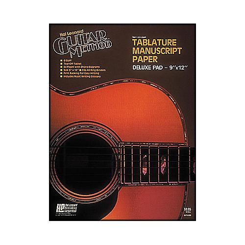 Hal Leonard Guitar Tablature Manuscript Paper Deluxe-thumbnail