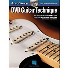 Hal Leonard Guitar Technique - At A Glance (Book/DVD)