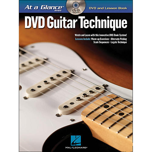 Hal Leonard Guitar Technique - At A Glance (Book/DVD)