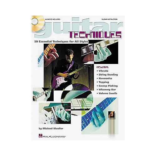 Hal Leonard Guitar Techniques Book/CD-thumbnail