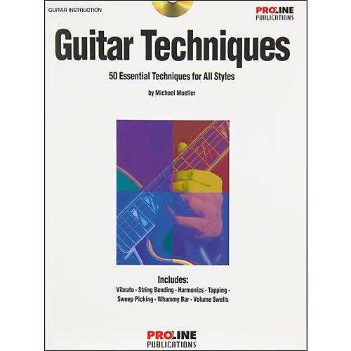 Proline Guitar Techniques (Book/CD)