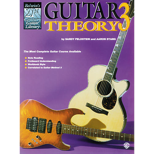 Alfred Guitar Theory 3 Book