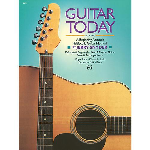 Alfred Guitar Today Book 2 Book-thumbnail