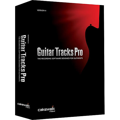 Cakewalk Guitar Tracks Pro 4 upgrade from Guitar Tracks Pro