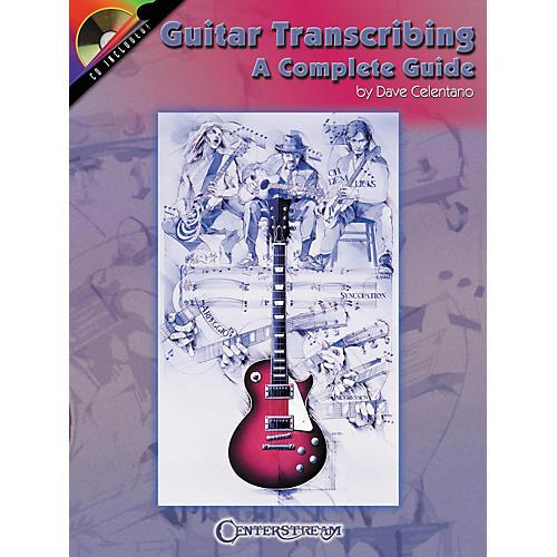 Centerstream Publishing Guitar Transcribing (Book/CD)-thumbnail