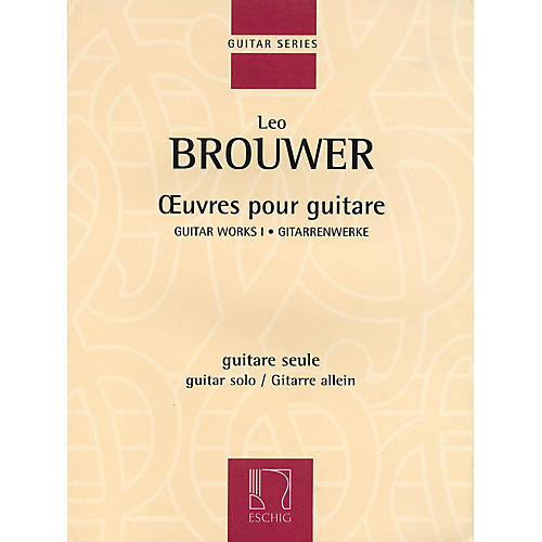 Max Eschig Guitar Works I (Guitar Solo) Editions Durand Series Softcover-thumbnail