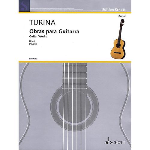 Schott Guitar Works (Obras Para Guitarra) Guitar Series Softcover-thumbnail