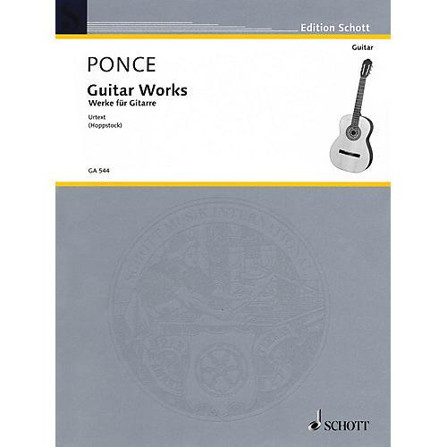 Schott Guitar Works (Urtext Edition) Guitar Series-thumbnail