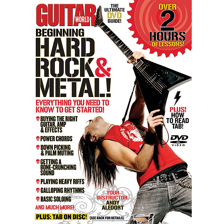 Alfred Guitar World Beginning Hard Rock & Metal Guitar (DVD)