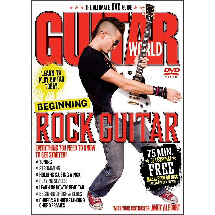 AlfredGuitar World Beginning Rock Guitar (DVD)
