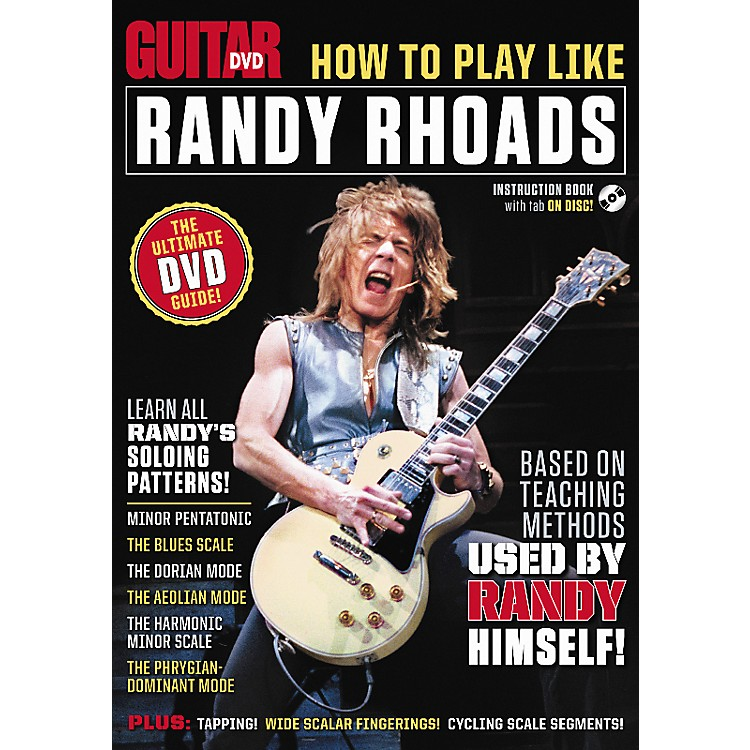Alfred Guitar World How To Play Like Randy Rhoads DVD