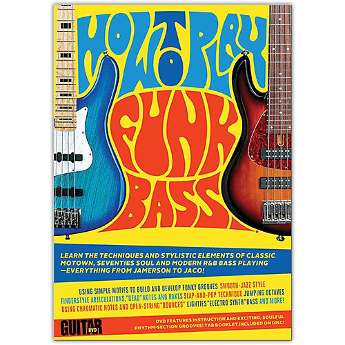 Alfred Guitar World: How to Play Funk Bass DVD